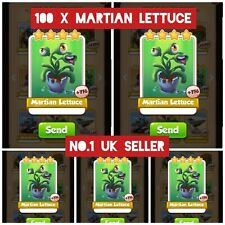 100 x Martian Lettuce Coin Master Cards (in just 5 min)