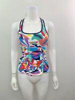 Anne Klein Locker Women's Size XS Scoop Neck Tankini Swimsuit