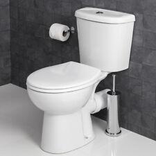 Croydex Flexi-Fix Constance Toilet Seat Thermoset Plastic White Quick Release