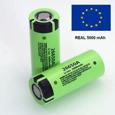 Battery 3.7V 5000mah 26650 A Lithium Rechargeable Batteries