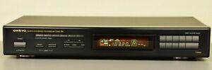 ONKYO T-4930 FM/AM QUARTZ SYNTHESIZER TUNER HIFI VOLL FUNKTIONFÄHIG 1A ZUSTAND