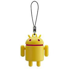 Android Robot Colors Mascot Portachiave Keychain Swing Giallo Yellow Bandai