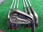 Adams Golf Idea Black Forged CB2 Irons 4-PW Iron Set KBS Stiff NEW Uncut Shafts