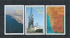 NAMIBIA 1994 MiNr: 768 - 770 ** SHIP MAP SCHIFF WATER