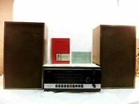 VINTAGE SABA STEREO-STUDIO 1; Tube style Receiver/Radio w/Speakers