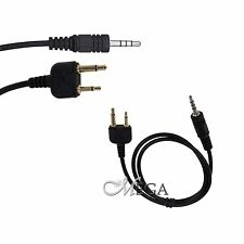 2pcs Repeater Controller Cable for ICOM (S plug 2 pin) [117325] (46-S)