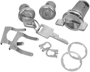 69-78 GM IGNITION & DOOR LOCK SET SQUARE HEAD KEY #106