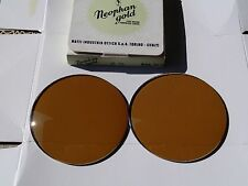 VERY RARE VINTAGE NOS 70s PERSOL RATTI *NEOPHAN GOLD* LENSES 649 714 805 Folding