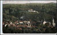 Gernrode Harz alte Ansichtskarte ~1910/20 Partie Cyriaki Kirche und Stubenberg