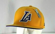 Los Angeles Lakers Yellow Baseball Cap Stretch Fit  L / XL