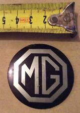 MG MIDGET WHEEL CENTRE BADGE Vintage Genuine Rare COLLECTABLE
