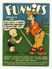 Funnies, The #14 VG+ 4.5 1937