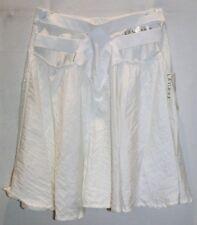 LASSKAA Brand White Cut Out Circle Skirt Size 12 BNWT #TN73