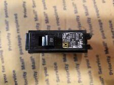 HOM120 Square D Homeline 20 amp 1 pole Breaker