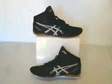 Asics Matflex Black Wrestling Shoes Size 10.5