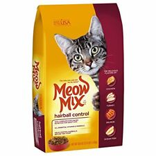 Premium Meow Mix Hairball Control Dry Cat Food (4) 3.15 Lb. Bags