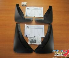 2015-2020 Dodge Challenger Deluxe Molded Splash Guard Kit Front & Rear Mopar OEM