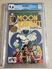 Moon Knight #1 🔥🔥CGC 9.6🔥🔥 1980  Origin of Moon Knight 1st app of R Bushman