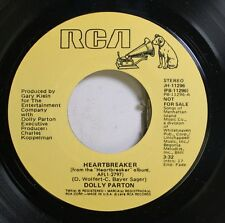 Country Promo Nm! 45 Dolly Parton - Heartbreaker / Heartbreaker On Rca