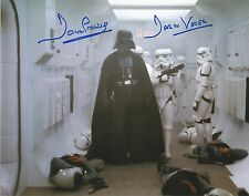 Dave Prowse Darth Vader Star Wars Tantive ship scene hand signed photo COA UACC