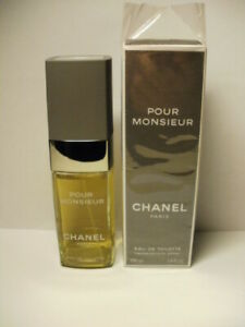 USED CHANEL POUR MONSIEUR EDT 100ML/3.3fl.oz-APPROXIMATELY 10% USED-