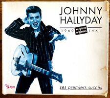 Johnny Hallyday - Ses Premiers Succès 1960-1961 Versions Originales - Coffret CD
