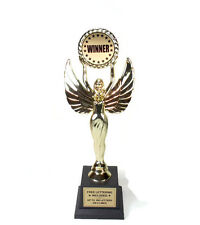 Victory,Female With Holder #2- Trophy- Achievement- Jumbo Series- Free Lettering