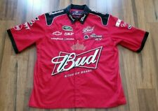 """NASCAR Kevin Harvick """" BUD King Of Beers """" - RED - MENS SIZE XL - SHIRT"""