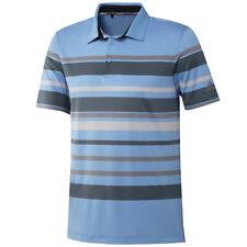 Adidas Golf Men's Ultimate 365 Engineer Stripe Polo Shirt,  Brand New