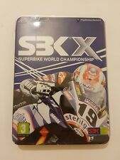 SBK X Superbike World Championship Steelbook Edition PS3 pal España y completo