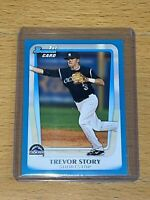 Trevor Story 2011 Bowman Draft Blue Border /499 Prospect Parallel Rookie RC