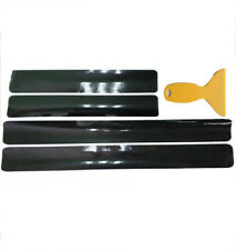 4Pcs Accessories Carbon Fiber Car Scuff Plate Door Sill 5D Sticker For Honda