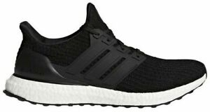 NEW! [BB6166] Mens ADIDAS UltraBoost Ultra Boost 4.0 Running Black White Size 8