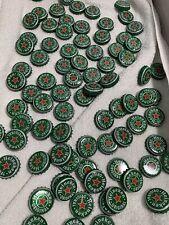 100 Heineken Bottle Caps Green New Style washed crafts metal beer