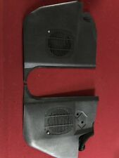 Bmw E30 Speaker Kick Panel Black 325i 325ix 325e 325es With Hardware