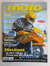 Toute la MOTO N°1 /HONDA CBR 1000 RR/BMW K1200 LT/SUZUKI SV 650 S/KAWASAKI W650