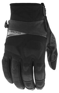 Fly Racing Mens Boundary Gloves Water Resistant Snowmobile Black All Sizes