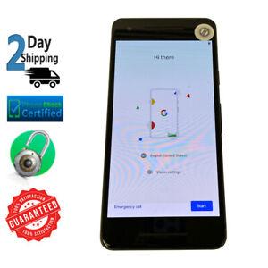 Google Pixel 2 - Black AT&T T-Mobile Verzion Unlocked Smartphone   64GB