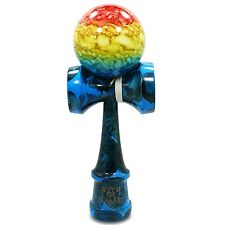 Full Sunset Earth Marble Kendama And Extra String