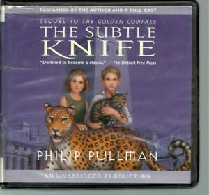 THE SUBTLE KNIFE by PHILIP PULLMAN~UNABRIDGED CD AUDIOBOOK