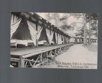Tent Houses- YWCA Conference Grounds- Asilomar California Postcard Unused