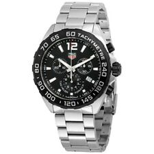 Tag Heuer Men's 'Formula 1' Chronograph Stainless Steel Watch. BRAND NEW.