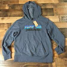 New With Tags PATAGONIA Kid's Lightweight Graphic Hoody Sweatshirt Size XL - 14