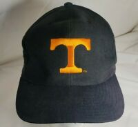 Vintage Tennessee Volunteers Hat Headmaster Snapback Cap 90's Black And Orange