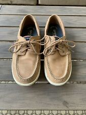 Men's Sperry Top Sider Brown Tan Convoy Boat Shoes Sts17627 Size 9M