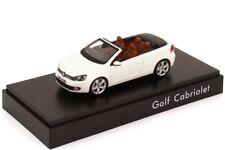 RARE VW GOLF 6 VI GT HIGHLINE CABRIOLET ORYX WHITE 1:43 SCHUCO (DEALER MODEL)
