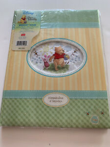 Disney Winnie the Pooh DAYS OF HUNNY Memory Book Baby's First Years, NEW