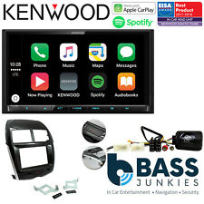"Mitsubishi ASX 2014 On Kenwood 7"" DAB Bluetooth CarPlay Car Stereo Kit"