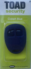 Toad alarm Cobalt blue 2 button remote fob case a101cl, Rk30, Toad sterling ONE