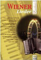 Akkordeon Noten : Wiener Lieder -  leichte Mittelstufe - mittelschwer (Exclusiv)